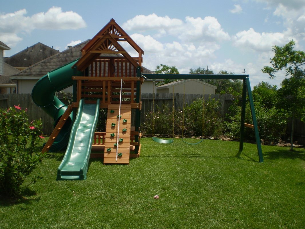 Don't wait, Call for quote on playset installation cost today!