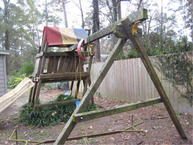 If your playset looks like this, you need to call us.
