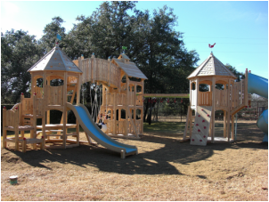 Loaded CedarWorks Playscape