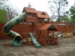 Playset installation cost of this size playscape starts at $475