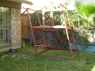 Big Backyard playset installation fail