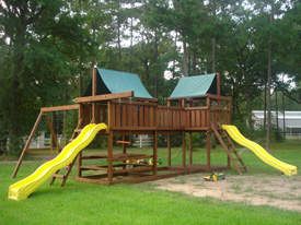 Refresh your swingset with preventive maintenance.