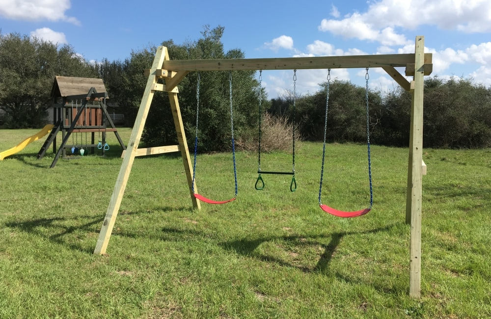New And Used Wooden Playsets Forts And Swing Sets
